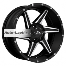 Buffalo BW-011 9x20/5x150 ET38 D110,1 BW-011 Satin Black Machined