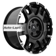 Buffalo BW-004 9x20/5x150 ET35 D110,1 BW-004 Gloss Black Machined Face