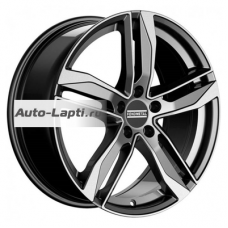 Fondmetal Hexis 8x18/5x112 ET48 D57,1 Hexis Gloss Black Machined