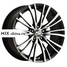 MSW 20/5 8x17/5x108 ET40 D73,1 20/5 Matt Black Full Polished