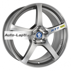 Sparco 8x17/5x100 ET48 D63,3 RTT524 Matt Silver Tech Diamond Cut